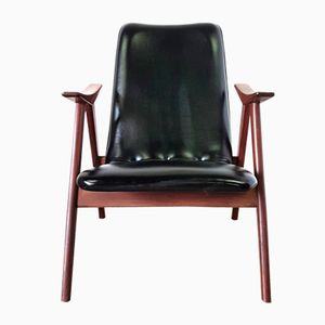 Mid-Century Lounge Chair by Louis van Teeffelen for WéBé, 1960s