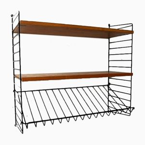 Vintage Wall Mounted Shelf by Kajsa & Nils Strinning for String