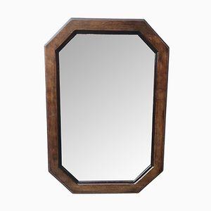 Vintage Octagonal Wall Mirror