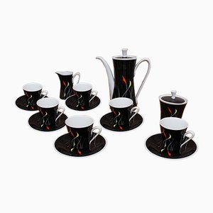 Coffee Set from Kahla, 1960s