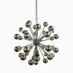 Vintage Chrome Sputnik Chandelier, 1960s