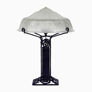 Art Deco French Table Lamp