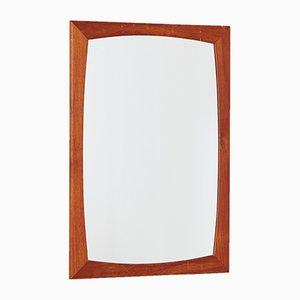 Mid-Century Danish Teak Framed Mirror, 1960s