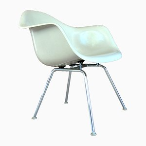 Silla Dax vintage de fibra de vidrio de Charles & Ray Eames para Herman Miller