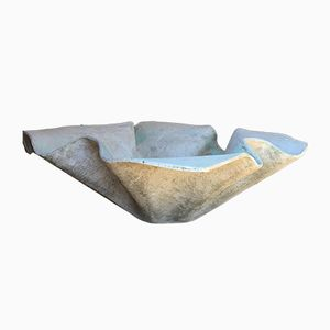 Vintage Cement Planter by Willy Guhl