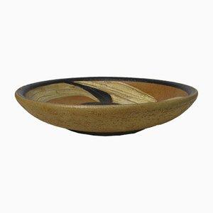Large Ceramic Dish by Noomi Backhausen for Soholm, 1950s