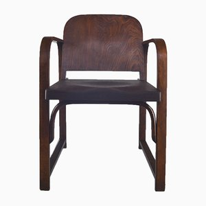 A 745 F Bentwood Armchair from Thonet, 1930s