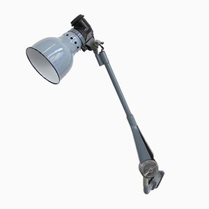 Wall-Mounted Industrial Lamp by Ernst Radermacher, 1930s
