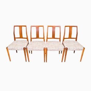 Teak Chairs from Burchardt & Nielsen, 1960s, Set of 4