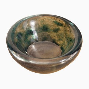 Vintage French Glass Bowl by Daum, 1960s