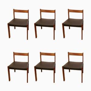Chaises de Salon Vintage, Set de 6