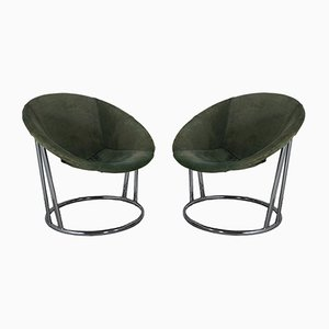 Lounge Chairs by Lusch Erzeugnis for Lusch & Co, 1960s, Set of 2