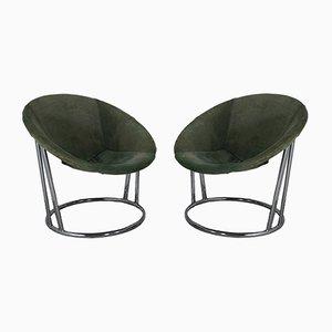 Sessel von Lusch Erzeugnis für Lusch & Co, 1960er, 2er Set