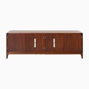 Vintage Low Cabinet or Bench by Brown Saltman
