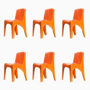 Stackable Chairs from Gilac Design, 1970s, Set of 6
