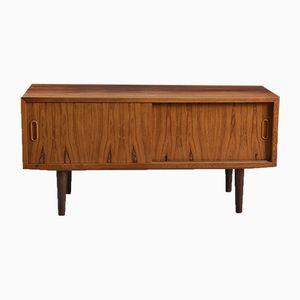 Mid-Century Low Rosewood Sideboard