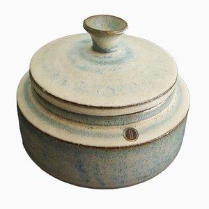 Pot avec Couvercle Vintage en Céramique par Rogier Vandeweghe pour Amphora, Belgique