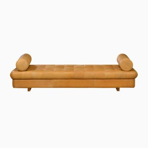 Vintage Leather Daybed