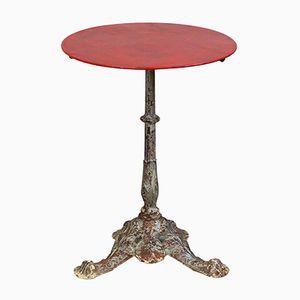 Antiker Französischer Louis Philippe Bistro Tisch mit Lion Feet