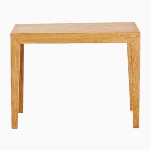 Small Danish Mid-Century Side Table in Oak, 1960s