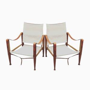 Safari Chairs by Kaare Klint, 1930s, Set of 2