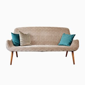 Mid-Century 3-Seater Cocktail Sofa