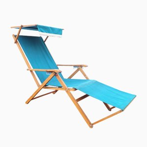 Wooden Foldable Capri Chair from Reguitti, 1950s