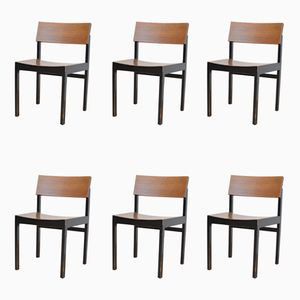 Model 3100 Chairs by Willy Guhl for Stein Am Rhein, 1959, Set of 6