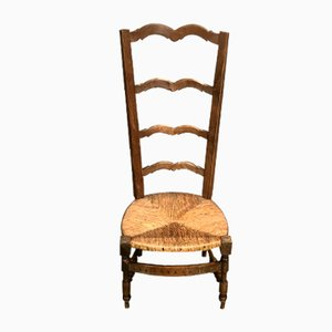19th-Century High Back Chair