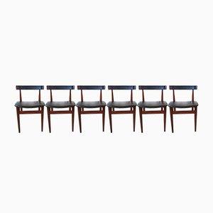 Mid-Century Esszimmerstühle von Hans Olsen für Frem Røjle, 6er Set