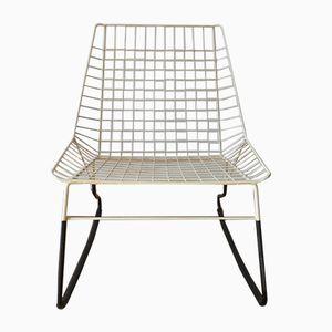 Rocking Chair Flamingo par Cees Braakman pour Pastoe, 1950s