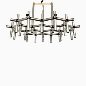 Chandelier by Robert Haussmann for Swiss Lamps International, 1970s