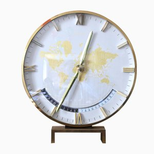 World Time Zone Table Clock from Kienzle, 1960s