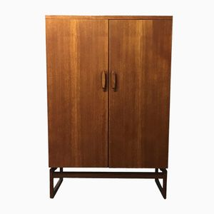 Mid Century Quadrille Teak Wardrobe By Victor Wilkins For G Plan, 1960s