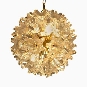 Mid-Century Sputnik Murano Chandelier by Paolo Venini for VeArt