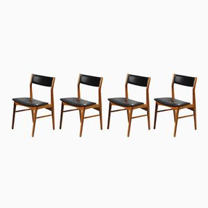 Model 69 Dining Room Chairs from Faldsled, 1950s, Set of 4