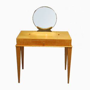 Art Deco Maple Dressing Table, 1940s