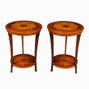 Italian Side Tables, 1950s, Set of 2