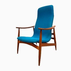 Vintage Sessel von Louis van Teeffelen für Wébé