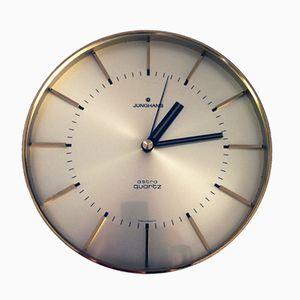 Reloj de pared Astra Quartz de Junghans, años 70