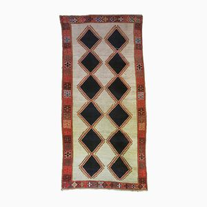 Persian Diamond Patterned Gabbeh Rug, 1950s