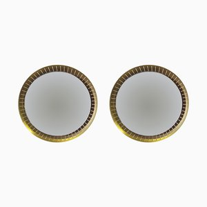 Mid-Century Illuminated Mirrors from Stilnovo, Set of 2
