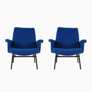 SK660 Armchairs by Pierre Guariche for Steiner, 1950s, Set of 2