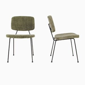 CM 196 Chairs by Pierre Paulin for Thonet, 1950s, Set of 4