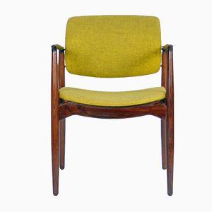 Model 67 Rosewood Captain's Chair by Erik Buch for Ørum Møbelfabrik