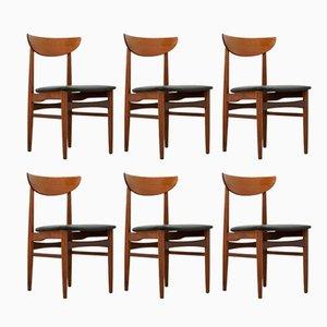 Mid-Century Danish Dining Chairs from Skovby Møbelfabrik, Set of 6
