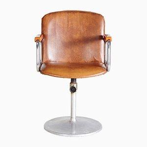 Chaise Pivotante Ajustable Leatherette, 1970s