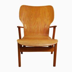Domus Lounge Chair by Ilmari Tapiovaara for Keravan Puuteolisuus Oy, 1947