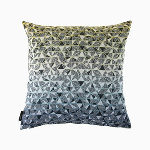 Small Cosmogony Cushion in Green from NoMoreTwist