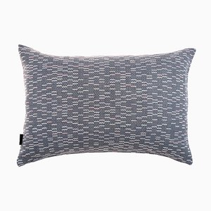 Medium Clapotis Cushion in Blue from NoMoreTwist